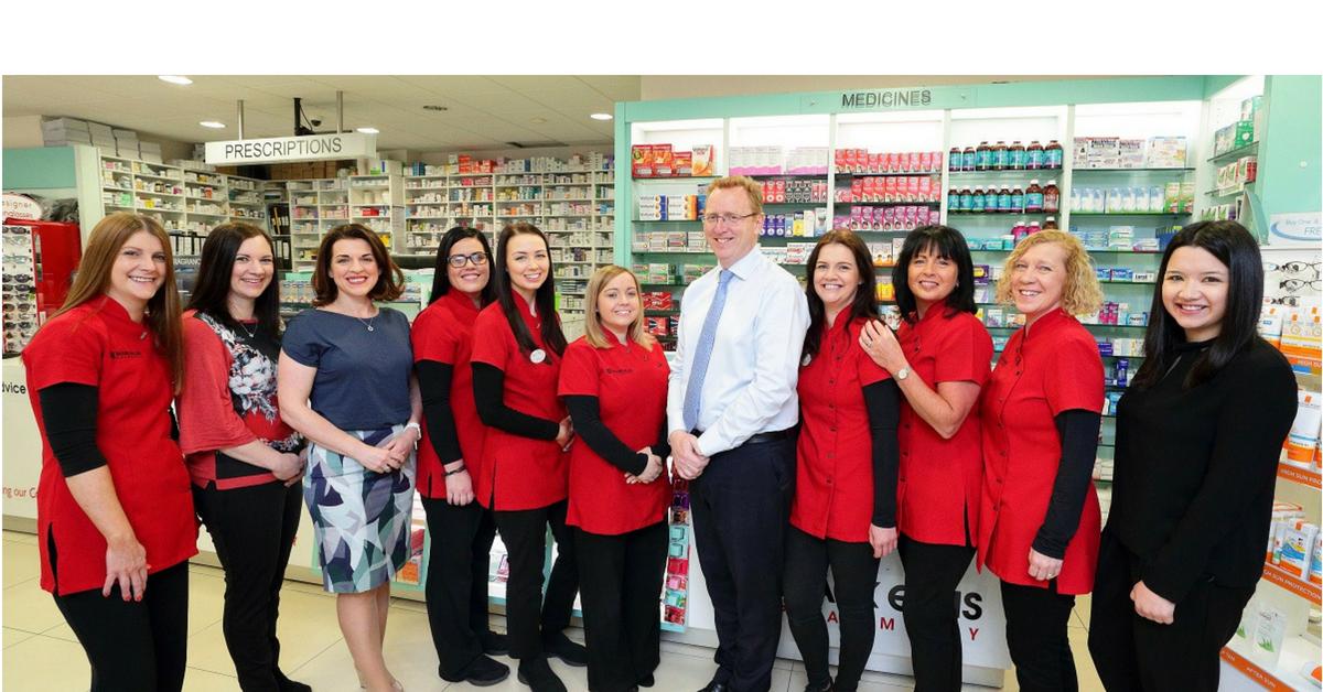 Mark Ellis Pharmacy Woodstown team